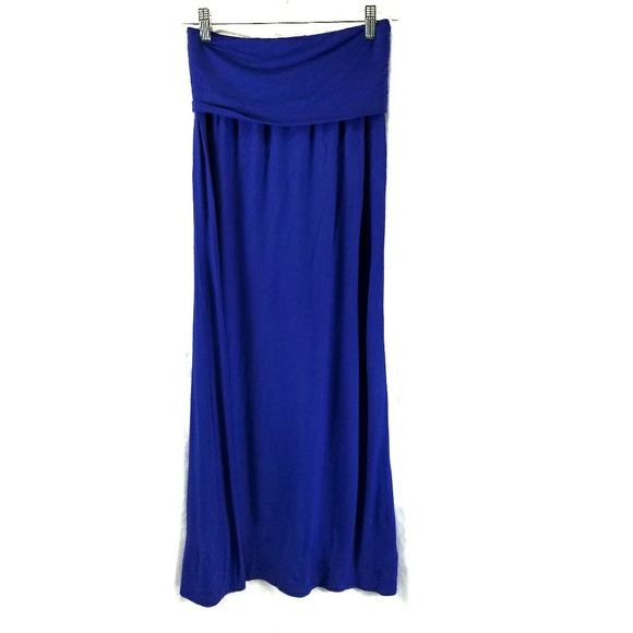 86c6f051675ea a.n.a Dresses   Skirts - a.n.a Cobalt Blue Maxi Skirt from JCPenney